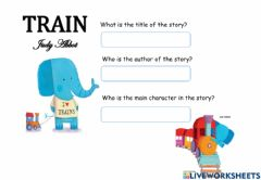 Interactive worksheet Lesson 70 Year 1