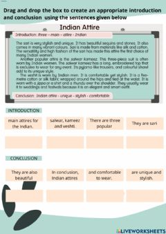 Interactive worksheet Unit 11 Tailor Made