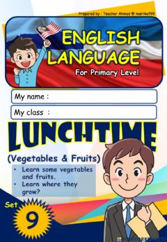Interactive worksheet Lunchtime (9) - vegetables and fruits