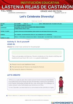 Interactive worksheet Activity 3- a1 .august 22nd