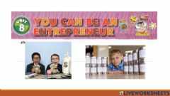 Interactive worksheet Unit 8.You Can be An Entrepreneur