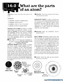 Ficha interactiva PS-03-What are the parts of an atom