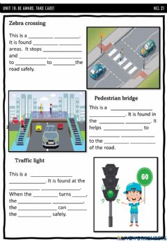 Interactive worksheet Safety features