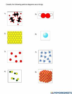Ficha interactiva Classify atoms, molecules, elements, and compounds