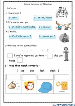 Interactive worksheet We can 3 revesion unit 3