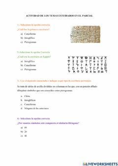 Interactive worksheet 2do Parcial