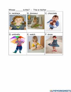 Interactive worksheet Speaking Activity for Bright Ideas 2 Unit 1