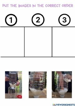 Interactive worksheet Sequence
