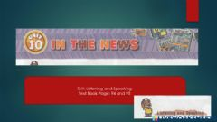 Interactive worksheet Unit 10 In The News
