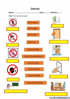 Interactive worksheet Exercise P2