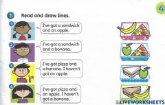 Interactive worksheet Unit 4 lunchtime