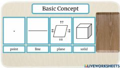 Interactive worksheet Basic Concepts - picture only
